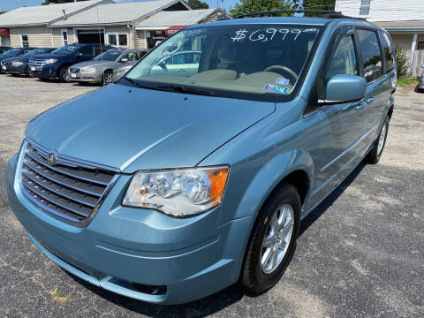 2010 Chrysler Town and Country for sale at Volare Motors in Cranston RI