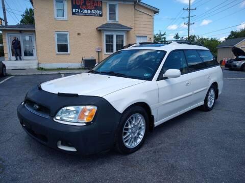 2003 Subaru Legacy for sale at Top Gear Motors in Winchester VA