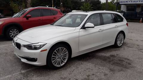 2015 BMW 3 Series for sale at RICKY'S AUTOPLEX in San Antonio TX