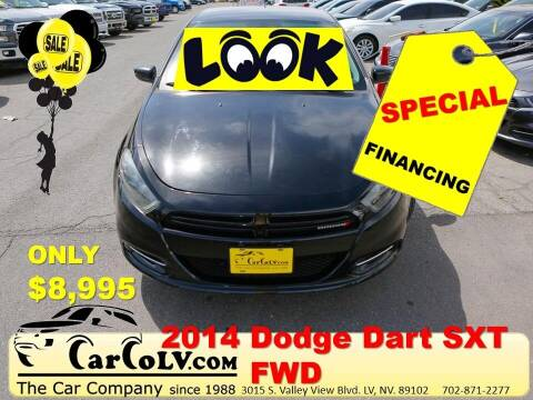 2014 Dodge Dart for sale at The Car Company in Las Vegas NV
