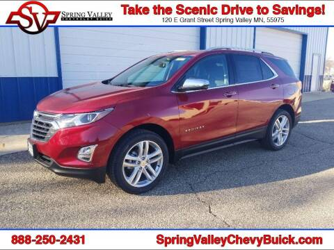 2021 Chevrolet Equinox for sale at Spring Valley Chevrolet Buick in Spring Valley MN