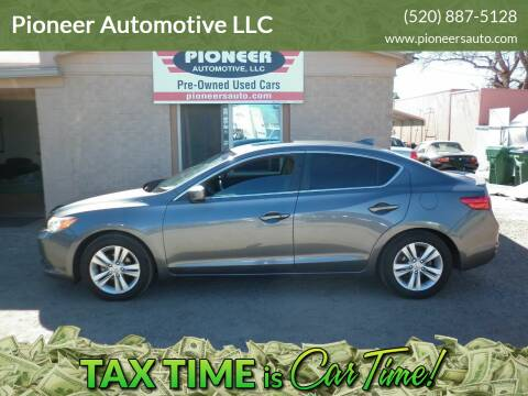 2013 Acura ILX for sale at Pioneer Automotive LLC in Tucson AZ