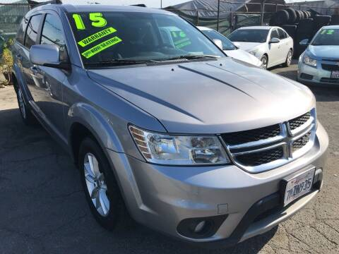 2015 Dodge Journey for sale at CAR GENERATION CENTER, INC. in Los Angeles CA