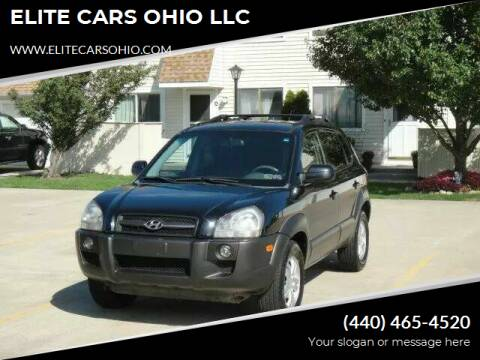 2007 Hyundai Tucson for sale at ELITE CARS OHIO LLC in Solon OH