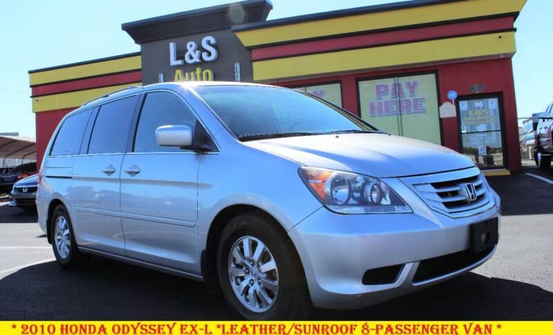 2010 Honda Odyssey for sale at L & S AUTO BROKERS in Fredericksburg VA