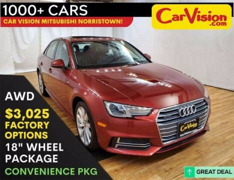 2018 Audi A4 for sale at Car Vision Buying Center in Norristown PA