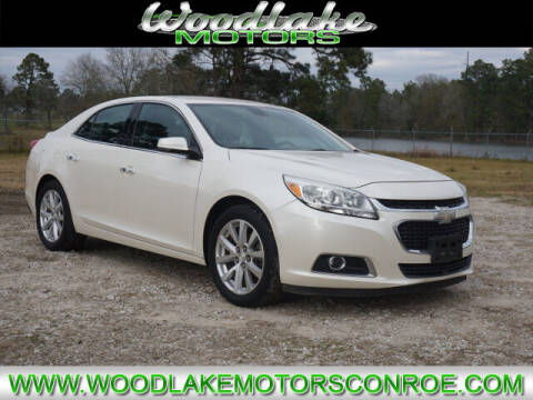 2014 Chevrolet Malibu for sale at WOODLAKE MOTORS in Conroe TX