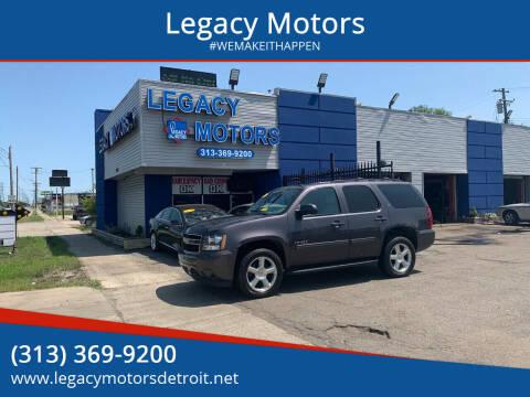 2011 Chevrolet Tahoe for sale at Legacy Motors in Detroit MI