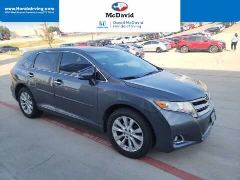 2014 Toyota Venza for sale at DAVID McDAVID HONDA OF IRVING in Irving TX