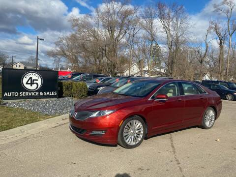 2014 Lincoln MKZ for sale at Station 45 Auto Sales Inc in Allendale MI