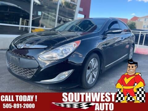 2014 Hyundai Sonata Hybrid for sale at SOUTHWEST AUTO in Albuquerque NM
