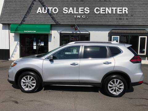 2017 Nissan Rogue for sale at Auto Sales Center Inc in Holyoke MA