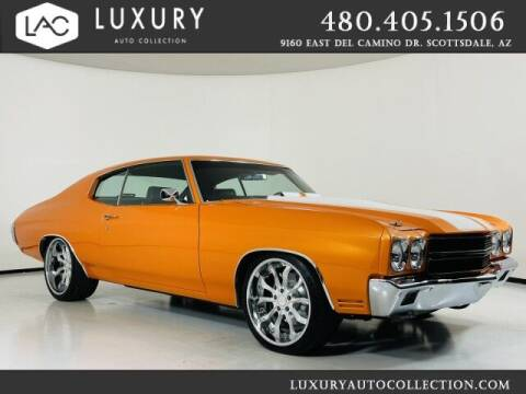 1972 Chevrolet RestoMod/ 650HP LSX Engine/ LS for sale at Luxury Auto Collection in Scottsdale AZ