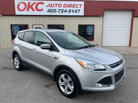 2015 Ford Escape for sale at OKC Auto Direct in Oklahoma City OK
