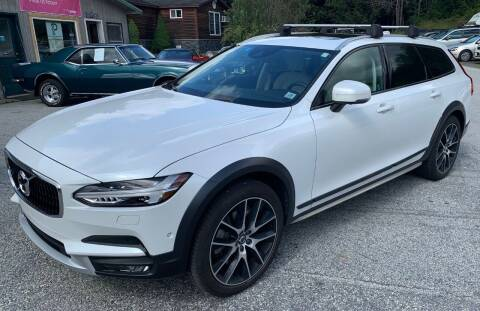 2018 Volvo V90 Cross Country for sale at Past & Present MotorCar in Waterbury Center VT