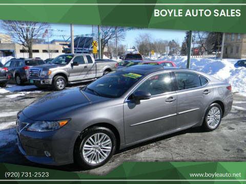 2013 Lexus ES 350 for sale at Boyle Auto Sales in Appleton WI