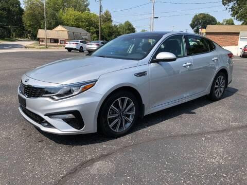 2019 Kia Optima for sale at Teds Auto Inc in Marshall MO