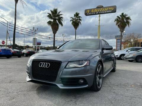 2012 Audi A4 for sale at A MOTORS SALES AND FINANCE - 5630 San Pedro Ave in San Antonio TX