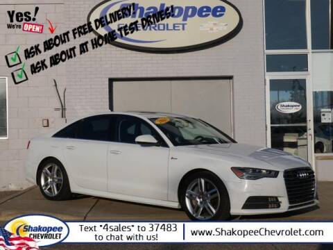 2016 Audi A6 for sale at SHAKOPEE CHEVROLET in Shakopee MN