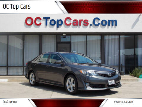 2014 Toyota Camry for sale at OC Top Cars in Irvine CA
