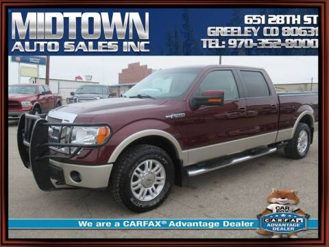 2009 Ford F-150 for sale at MIDTOWN AUTO SALES INC in Greeley CO