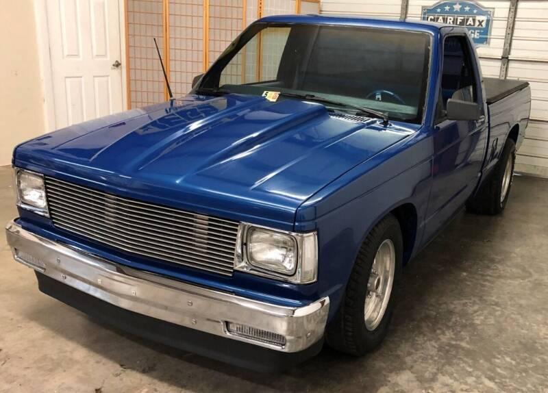 1983 Chevrolet S-10 for sale at Muscle Car Jr. in Alpharetta GA