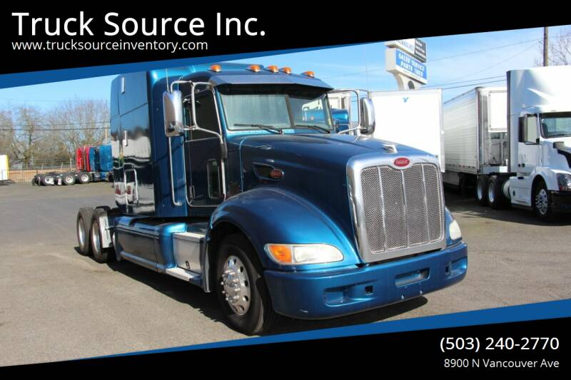 2013 Peterbilt 386 for sale at Truck Source Inc. in Portland OR