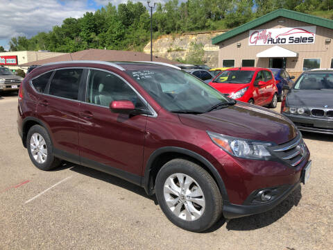 2013 Honda CR-V for sale at Gilly's Auto Sales in Rochester MN
