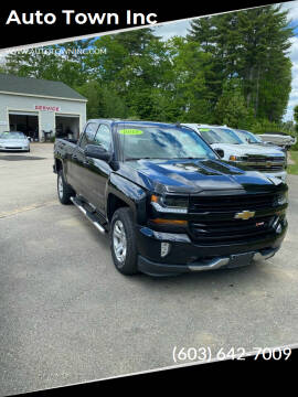 2018 Chevrolet Silverado 1500 for sale at Auto Town Inc in Brentwood NH