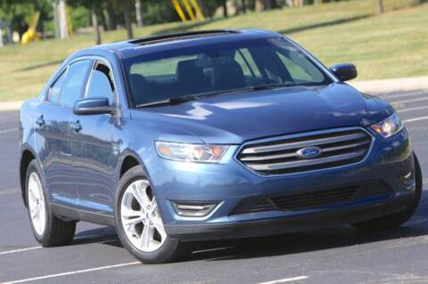 2018 Ford Taurus for sale at MGM Motors LLC in De Soto KS