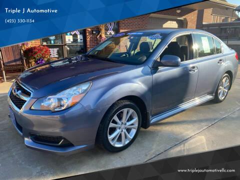 2014 Subaru Legacy for sale at Triple J Automotive in Erwin TN