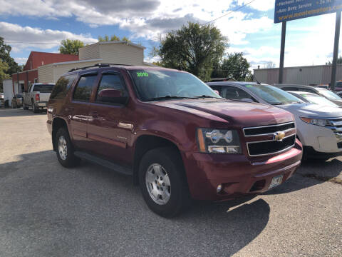 2010 Chevrolet Tahoe for sale at Monte Motor Sales in Montevideo MN