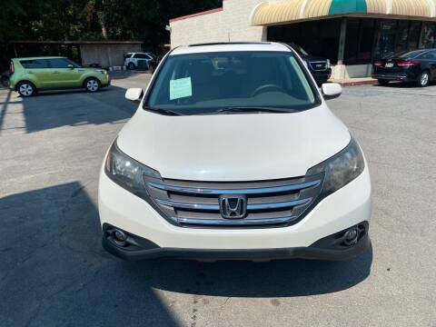 2013 Honda CR-V for sale at J Franklin Auto Sales in Macon GA