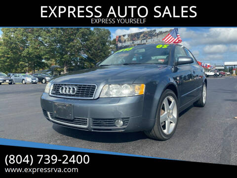 2005 Audi A4 for sale at EXPRESS AUTO SALES in Midlothian VA