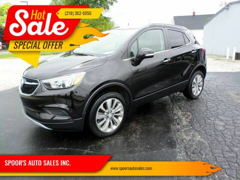2017 Buick Encore for sale at SPOOR'S AUTO SALES INC. in La Porte IN