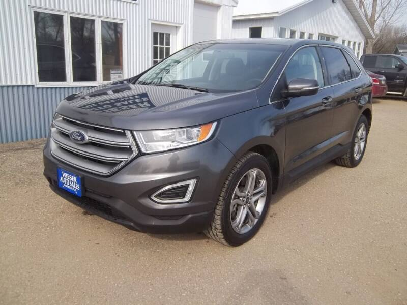 2016 Ford Edge for sale at Wieser Auto INC in Wahpeton ND