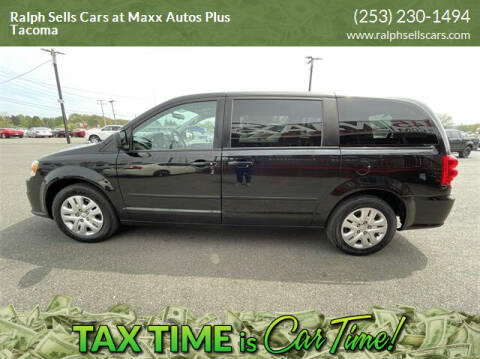 2017 Dodge Grand Caravan for sale at Ralph Sells Cars at Maxx Autos Plus Tacoma in Tacoma WA