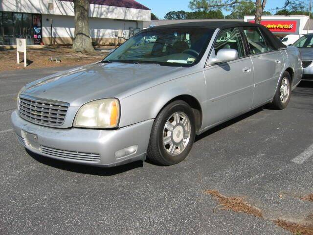 2003 Cadillac DeVille for sale at HL McGeorge Auto Sales Inc in Tappahannock VA