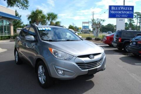 2013 Hyundai Tucson for sale at BlueWater MotorSports in Wilmington NC
