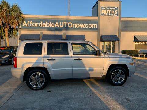 2008 Jeep Patriot for sale at Affordable Autos in Houma LA