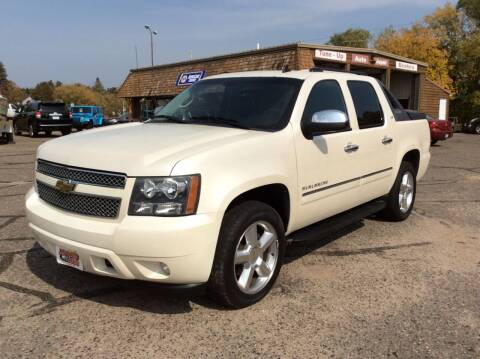 2011 Chevrolet Avalanche for sale at MOTORS N MORE in Brainerd MN