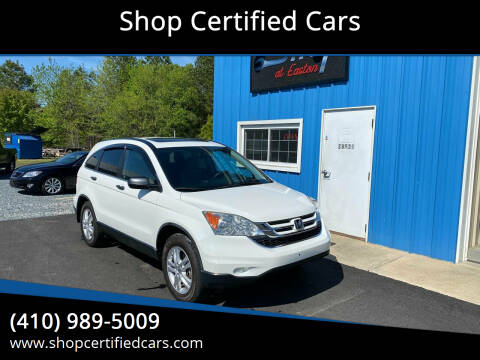 2011 Honda CR-V for sale at Shop Certified Cars in Easton MD