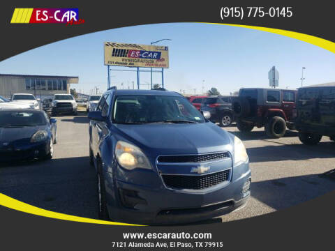 2011 Chevrolet Equinox for sale at Escar Auto in El Paso TX