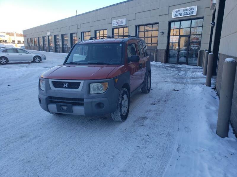 2003 Honda Element for sale at Fleet Automotive LLC in Maplewood MN
