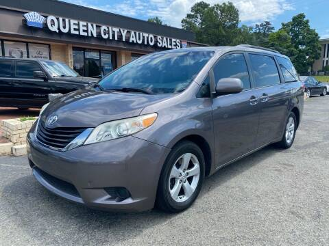 2011 Toyota Sienna for sale at Queen City Auto Sales in Charlotte NC