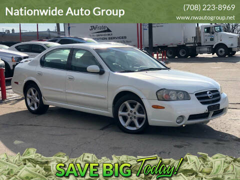 2002 Nissan Maxima for sale at Nationwide Auto Group in Melrose Park IL
