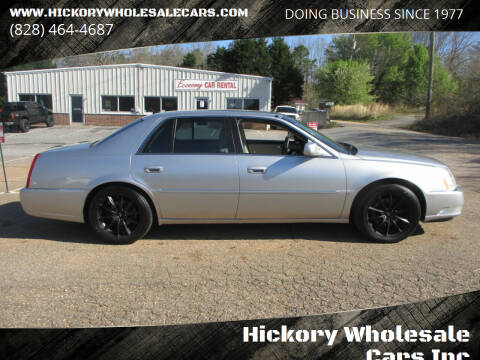 2008 Cadillac DTS for sale at Hickory Wholesale Cars Inc in Newton NC
