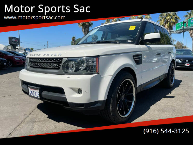 2010 Land Rover Range Rover Sport for sale at Motor Sports Sac in Sacramento CA