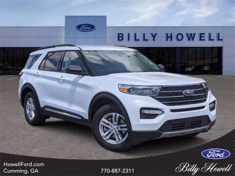 2021 Ford Explorer for sale at BILLY HOWELL FORD LINCOLN in Cumming GA