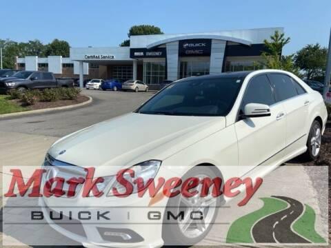 2011 Mercedes-Benz E-Class for sale at Mark Sweeney Buick GMC in Cincinnati OH